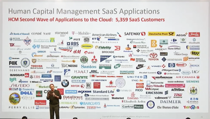 HCM SaaS customers