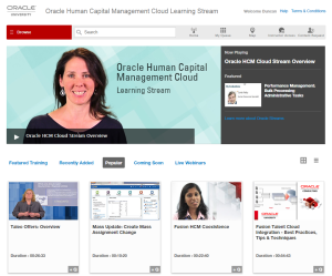 oracle learning streams